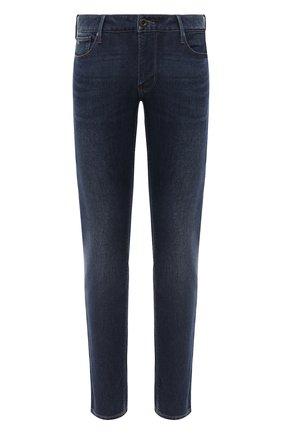 Мужские джинсы EMPORIO ARMANI синего цвета, арт. 6H1J06/1DPMZ   Фото 1