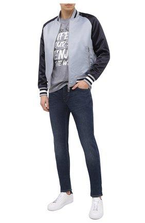 Мужские джинсы EMPORIO ARMANI синего цвета, арт. 6H1J06/1DPMZ   Фото 2