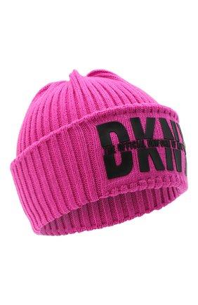 Детского шапка DKNY фуксия цвета, арт. D31262   Фото 1
