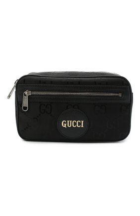 Мужская поясная сумка off the grid GUCCI черного цвета, арт. 631341/H9HBN   Фото 1