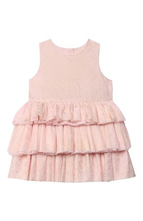Детское платье CHARABIA светло-розового цвета, арт. S12076   Фото 1