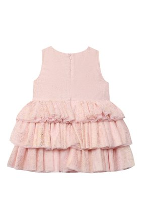 Детское платье CHARABIA светло-розового цвета, арт. S12076   Фото 2