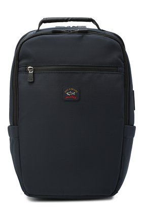 Мужской текстильный рюкзак PAUL&SHARK темно-синего цвета, арт. I20P8132/HVB   Фото 1