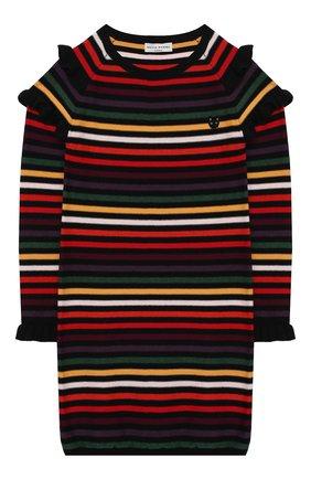 Платье из хлопка и шерсти | Фото №1