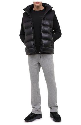 Мужской хлопковые брюки BOGNER серого цвета, арт. 18872739 | Фото 2