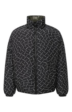 Мужская двусторонняя пуховая куртка MARCELO BURLON черного цвета, арт. CMED029F20FAB001 | Фото 1