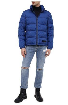 Мужская пуховая куртка ASPESI синего цвета, арт. W0 I I018 7954 | Фото 2