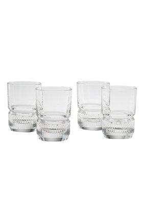 Мужского набор из 4-х стаканов broughton RALPH LAUREN прозрачного цвета, арт. 680559062001 | Фото 1