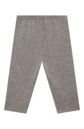 Детские кашемировые брюки OSCAR ET VALENTINE серого цвета, арт. PAN01S | Фото 2