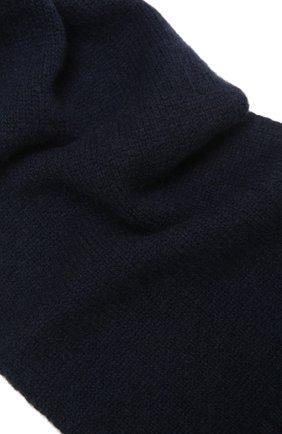 Детский кашемировый шарф OSCAR ET VALENTINE синего цвета, арт. ECH02 | Фото 2