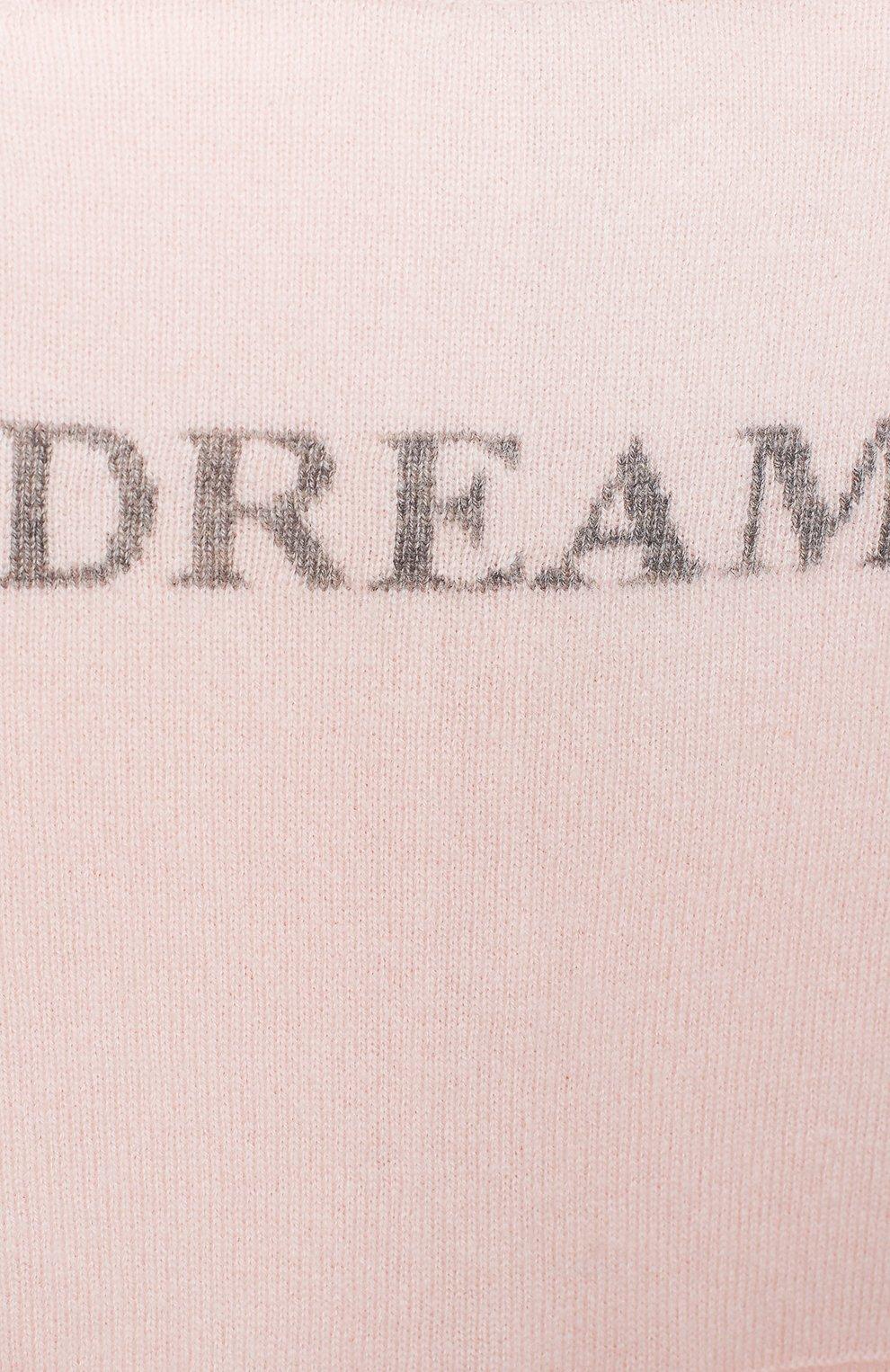 Детский кашемировый комбинезон OSCAR ET VALENTINE розового цвета, арт. COM01DREAMS   Фото 3 (Материал внешний: Шерсть; Рукава: Длинные; Ростовка одежда: 6 мес   68 см)
