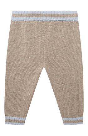 Детские кашемировые брюки FENDI голубого цвета, арт. BUG048/A8LH/12M-24M   Фото 2