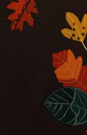 Детские хлопковые джоггеры DOLCE & GABBANA коричневого цвета, арт. L1JPWJ/G7XNG | Фото 3