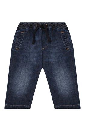 Детские джинсы DOLCE & GABBANA синего цвета, арт. L13P02/LD946 | Фото 1