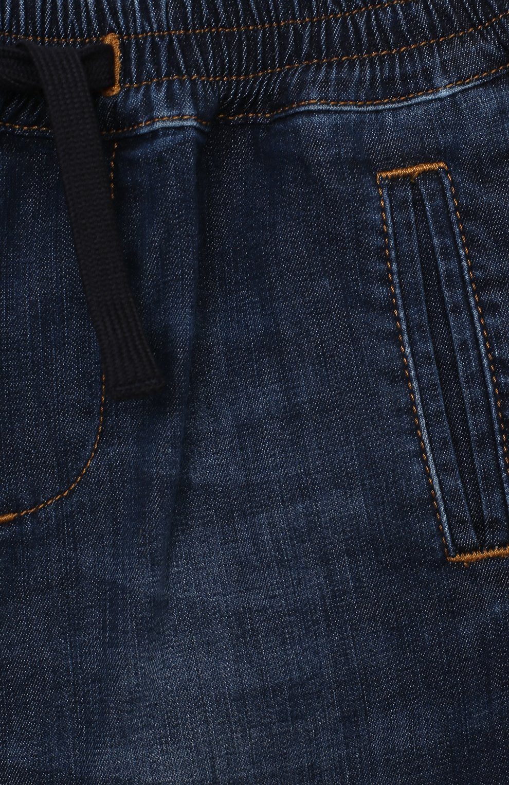 Детские джинсы DOLCE & GABBANA синего цвета, арт. L13P02/LD946 | Фото 3
