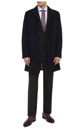 Мужская хлопковая сорочка CANALI сиреневого цвета, арт. NX58/GR01654/P | Фото 2