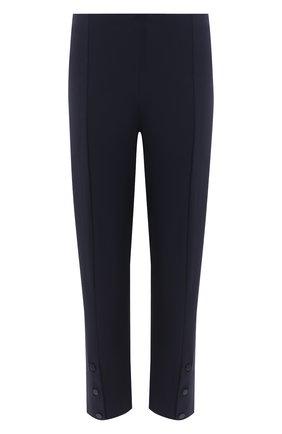 Женские брюки ST. JOHN темно-синего цвета, арт. K800W22 | Фото 1