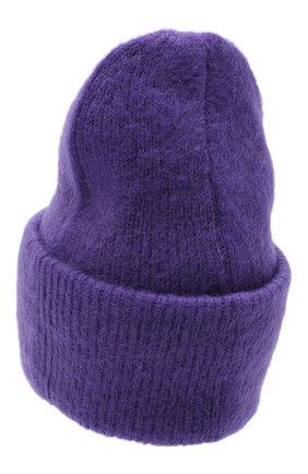 Женская шапка TAK.ORI фиолетового цвета, арт. HTK50027WM050AW19 | Фото 2