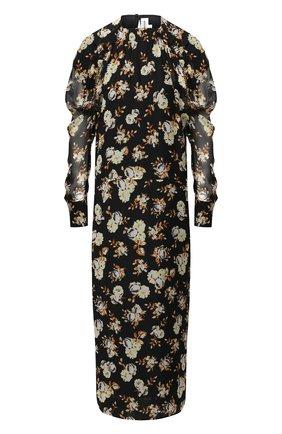 Женское шелковое платье VICTORIA BECKHAM разноцветного цвета, арт. 1320WDR001571A | Фото 1