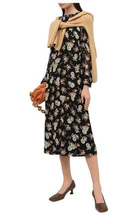 Женское шелковое платье VICTORIA BECKHAM разноцветного цвета, арт. 1320WDR001571A | Фото 2