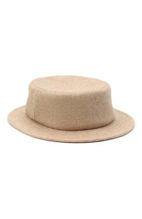 Женская шляпа из шерсти и кашемира A.T.T. бежевого цвета, арт. Т1137/212 | Фото 1