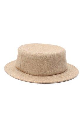 Женская шляпа из шерсти и кашемира A.T.T. бежевого цвета, арт. Т1137/212 | Фото 2