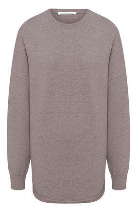 Женский кашемировый свитер EXTREME CASHMERE коричневого цвета, арт. 053/CREW H0P | Фото 1