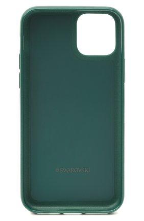 Мужской чехол для iphone 11 pro glam rock SWAROVSKI зеленого цвета, арт. 5549939 | Фото 2