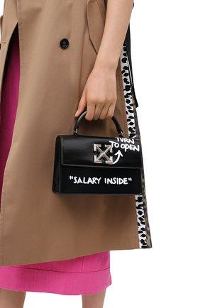 Женская сумка 1.4 jitney OFF-WHITE черного цвета, арт. 0WNA092E20LEA0011001 | Фото 2
