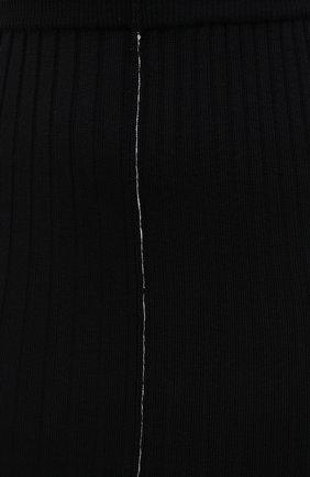 Женская шерстяная юбка ACT N1 черного цвета, арт. PFK2001 | Фото 5 (Материал внешний: Шерсть; Женское Кросс-КТ: Юбка-карандаш; Длина Ж (юбки, платья, шорты): Миди; Стили: Кэжуэл)
