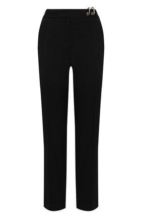 Женские шерстяные брюки ACT N1 черного цвета, арт. PFP2003 | Фото 1