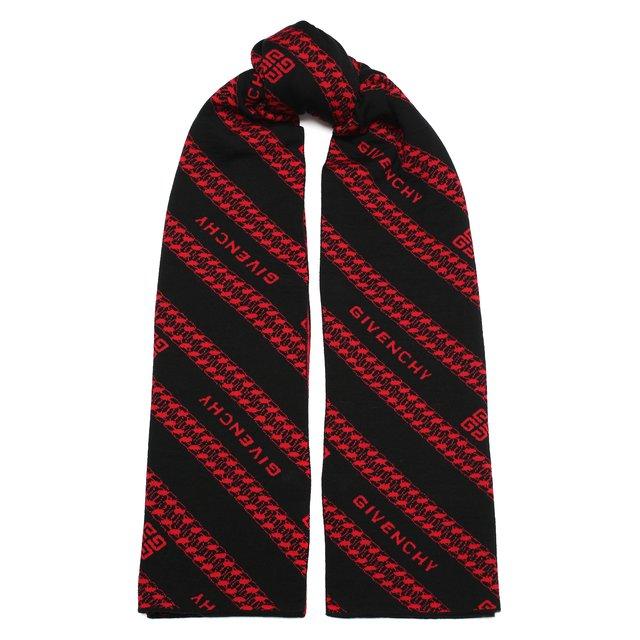 Шерстяной шарф Givenchy