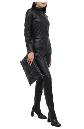 Женская рубашка BARBARA BUI черного цвета, арт. W1404KPF | Фото 2