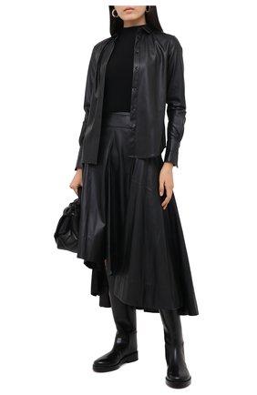 Женская юбка BARBARA BUI черного цвета, арт. W1517KPF   Фото 2