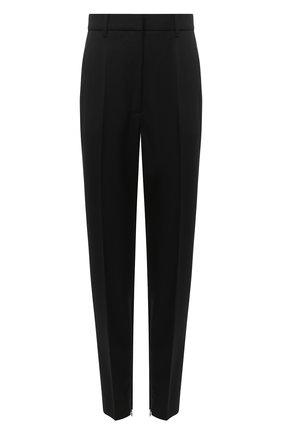 Женские шерстяные брюки BARBARA BUI черного цвета, арт. W1600EAK | Фото 1