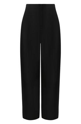 Женские шерстяные брюки LORENA ANTONIAZZI черного цвета, арт. SI2003PA003/318   Фото 1