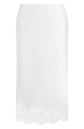 Женская юбка I.D. SARRIERI белого цвета, арт. L3050 | Фото 1