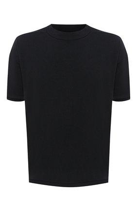 Мужская хлопковая футболка THOM KROM черного цвета, арт. M TS 530 | Фото 1