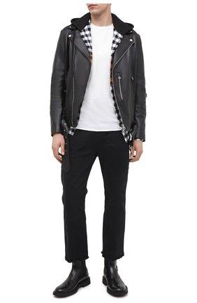 Мужские джинсы THOM KROM черного цвета, арт. M T 55 | Фото 2