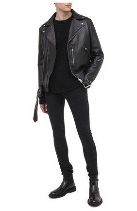 Мужской свитер THOM KROM черного цвета, арт. M K 89 | Фото 2