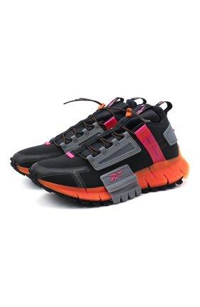 Мужские кроссовки zig kinetica edge REEBOK черного цвета, арт. FU8182 | Фото 1