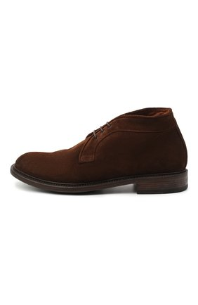 Мужские замшевые ботинки PANTANETTI коричневого цвета, арт. 13971B | Фото 3