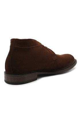 Мужские замшевые ботинки PANTANETTI коричневого цвета, арт. 13971B | Фото 4