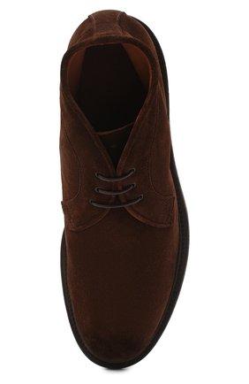 Мужские замшевые ботинки PANTANETTI коричневого цвета, арт. 13971B | Фото 5