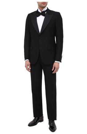 Мужской пиджак GUCCI черного цвета, арт. 625325/ZADC7 | Фото 2