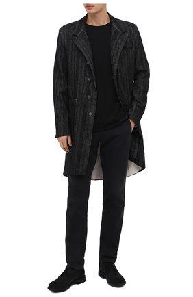 Мужской пальто TRANSIT темно-серого цвета, арт. CFUTRMJ193 | Фото 2