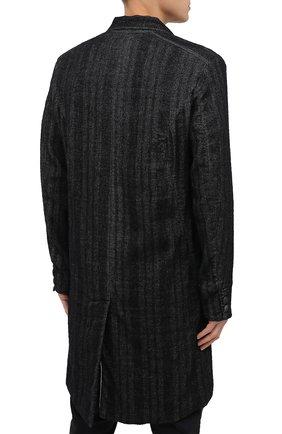 Мужской пальто TRANSIT темно-серого цвета, арт. CFUTRMJ193 | Фото 4
