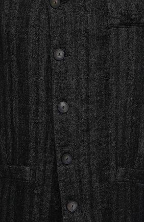 Мужской пальто TRANSIT темно-серого цвета, арт. CFUTRMJ193 | Фото 5