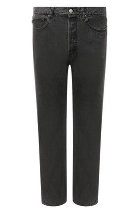 Мужские джинсы AMBUSH черного цвета, арт. BMYA002F20DEN001 | Фото 1