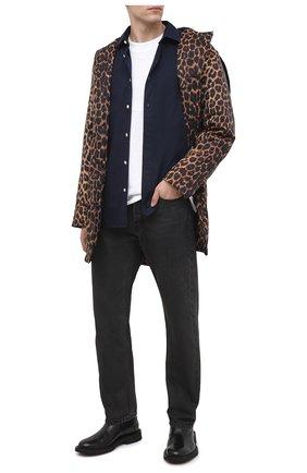 Мужские джинсы AMBUSH черного цвета, арт. BMYA002F20DEN001 | Фото 2